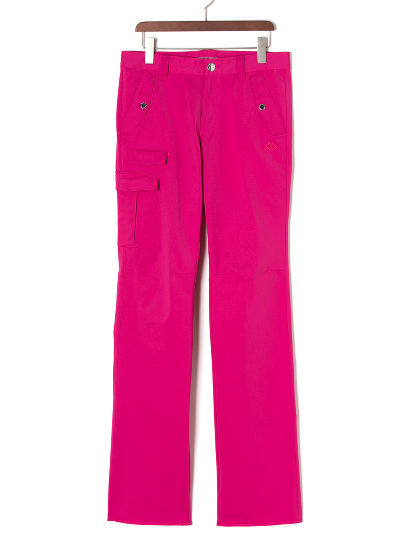 【60%OFF】ワンサイドポケット ストレート ゴルフパンツ マゼンタ 82 ファッション > メンズウエア~~パンツ