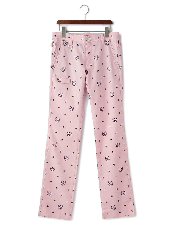 【50%OFF】小紋柄 ゴルフパンツ ライトピンク 79 ファッション > メンズウエア~~パンツ
