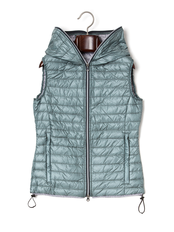 【50%OFF】FILIRA ダウンベスト グレーグリーン 40 ファッション > レディースウエア~~ベスト