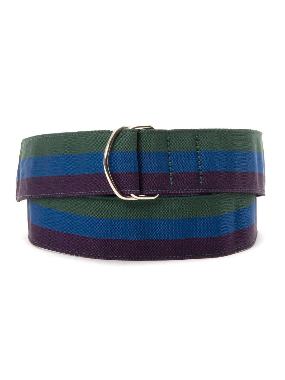 【70%OFF】Royal Regiment of Scotland ラインデザイン ベルト グリーンxブルーxパープル m ファッション > ファッション小物~~ベルト~~メンズ ベルト
