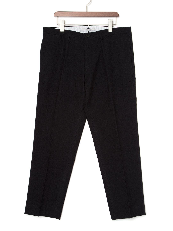 【60%OFF】CELLARDOOR センタープレス テーパードパンツ ネイビー 50 ファッション > メンズウエア~~パンツ