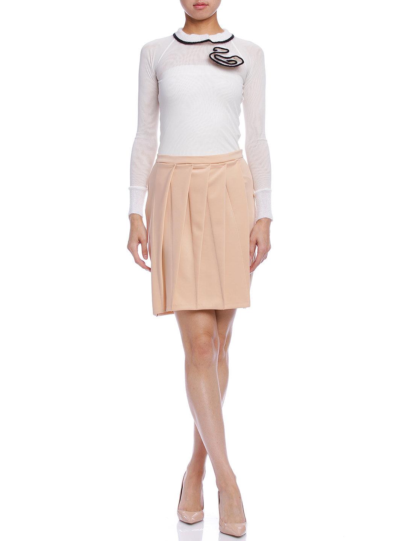 【86%OFF】デザインタック スカート ヌード 42 ファッション > レディースウエア~~スカート