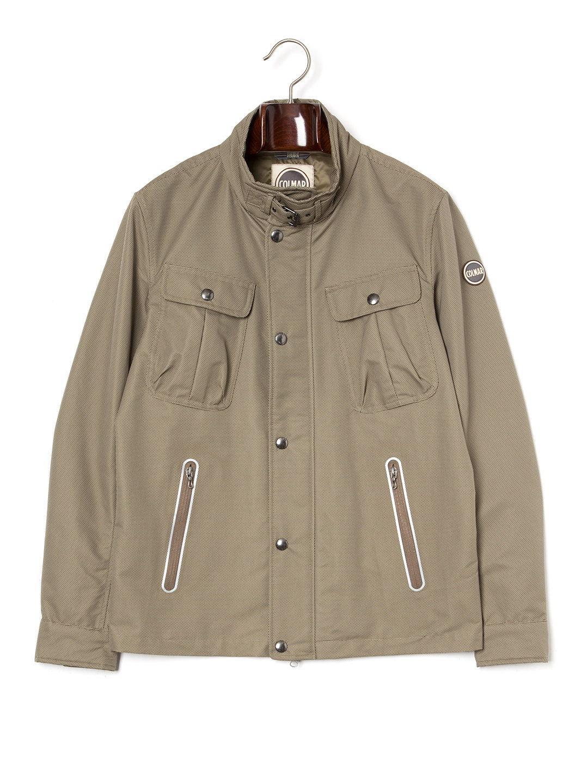 【71%OFF】スタンドカラー ジャケット ブラウン 46 ファッション > メンズウエア~~ジャケット