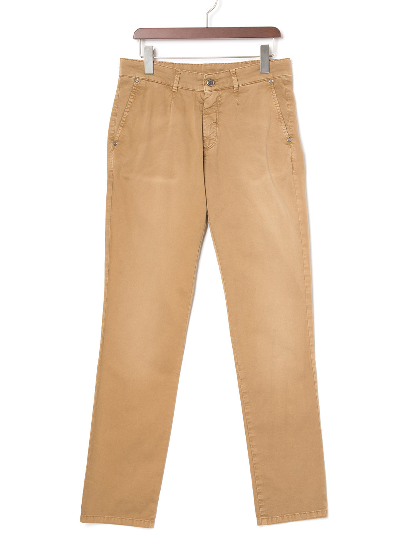 【73%OFF】ウォッシュ加工 パンツ オーカー 52 ファッション > メンズウエア~~パンツ