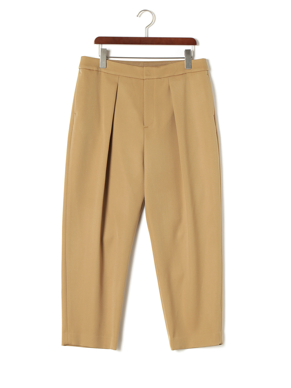 【85%OFF】タック パンツ ベージュ 04 ファッション > レディースウエア~~パンツ