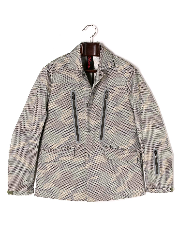 【80%OFF】迷彩柄 デザインポケット カジュアル ジャケット グリーンカモ l ファッション > メンズウエア~~ジャケット