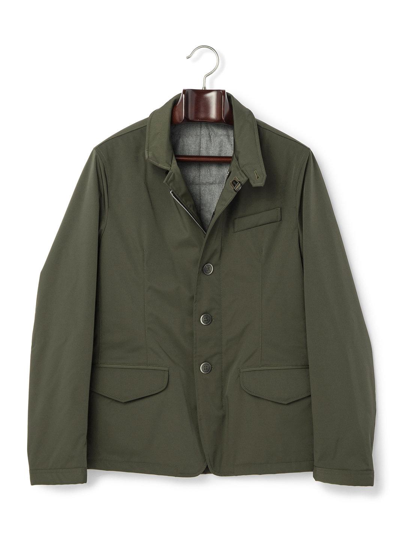 【80%OFF】スタンドカラー ジャケット カーキ s ファッション > メンズウエア~~ジャケット