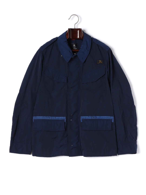 【80%OFF】比翼 M65風 ジャケット ネイビー m ファッション > メンズウエア~~ジャケット