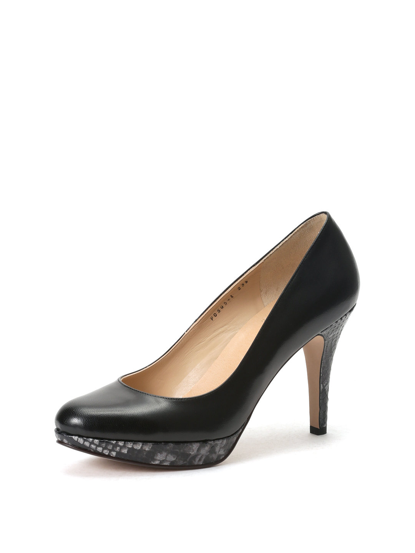 【40%OFF】プラットフォーム パンプス ブラックプガイエラ/グレーセルピコ 24 ファッション > 靴~~レディースシューズ