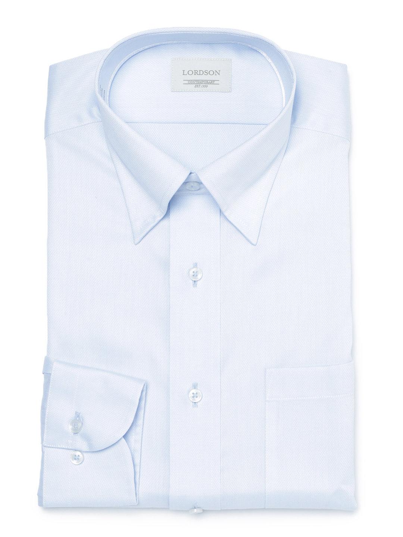 【50%OFF】スナップダウン 長袖シャツ ブルー 40-80 ファッション > メンズウエア~~その他トップス