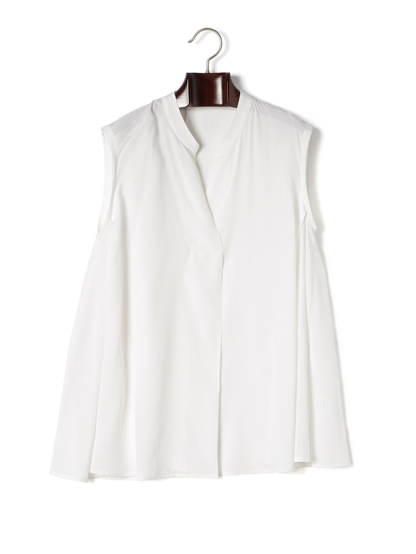 【60%OFF】タック フレアブラウス アイボリー 38 ファッション > レディースウエア~~その他トップス