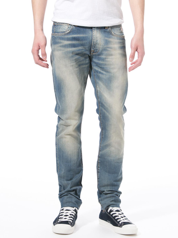 【70%OFF】PRINCE ITALY DENIM108TI ウォッシュ加工 デニム インディゴ 28 ファッション > メンズウエア~~パンツ