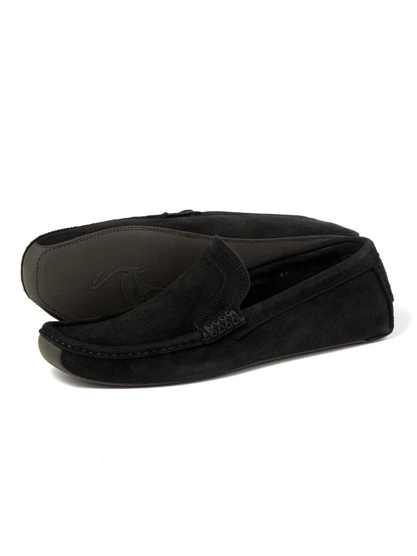 【80%OFF】スエード ローファー ブラック 43 ファッション > 靴~~メンズシューズ