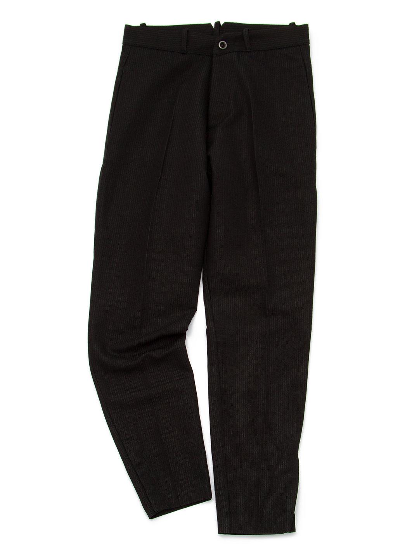 【70%OFF】テーパードパンツ ブラック 44 ファッション > メンズウエア~~パンツ
