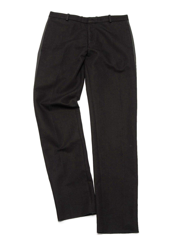 【70%OFF】側章 パンツ ブラック 48 ファッション > メンズウエア~~パンツ