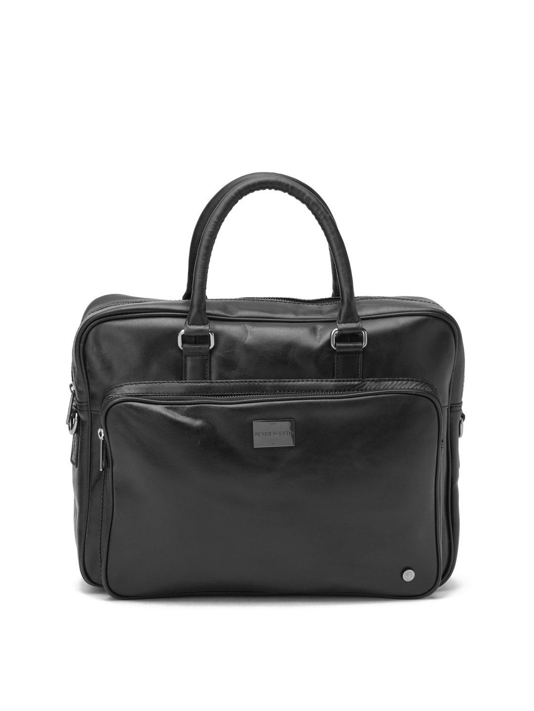 【65%OFF】Finlay レザー 2WAY ビジネスバッグ ブラック 旅行用品 > その他