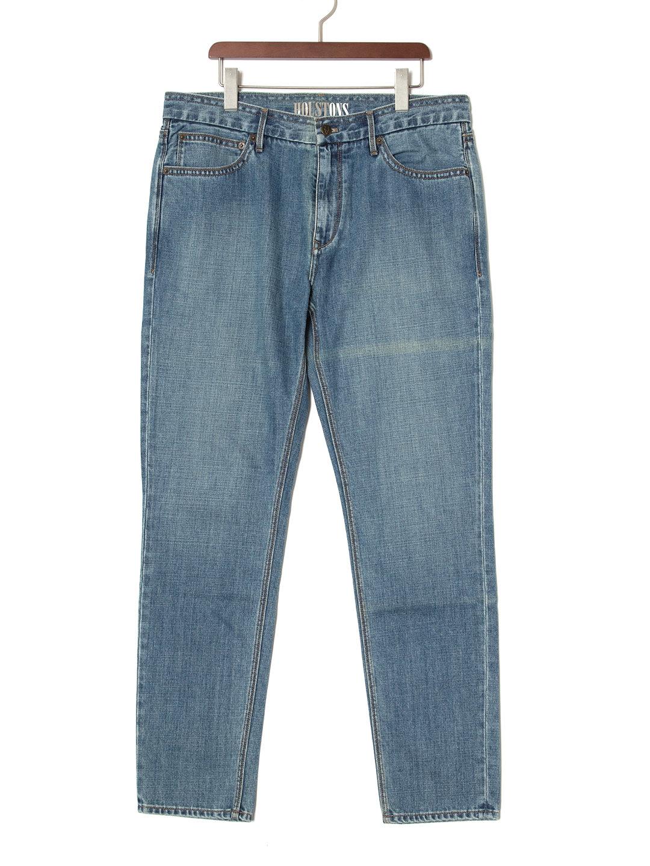 【70%OFF】5ポケット デニム ブルー 30/32 ファッション > メンズウエア~~パンツ