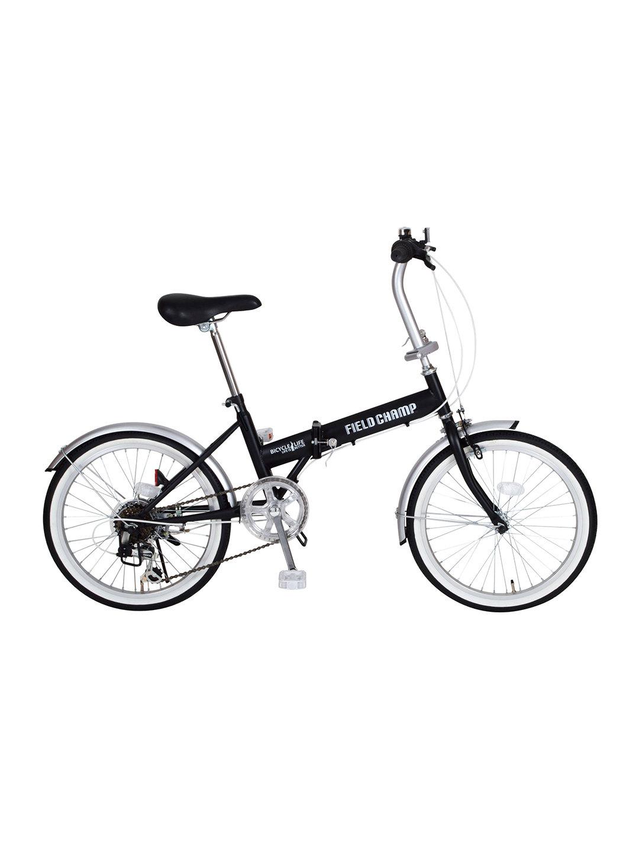 【27%OFF】FIELD CHAMP FDB206S 折りたたみ 自転車 ブラック 自転車・車・バイク用品 > 自転車~~シティサイクル