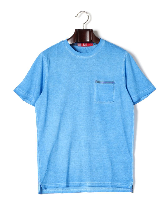 【80%OFF】ワンポケット クルーネック 半袖Tシャツ パラダイス l ファッション > メンズウエア~~その他トップス
