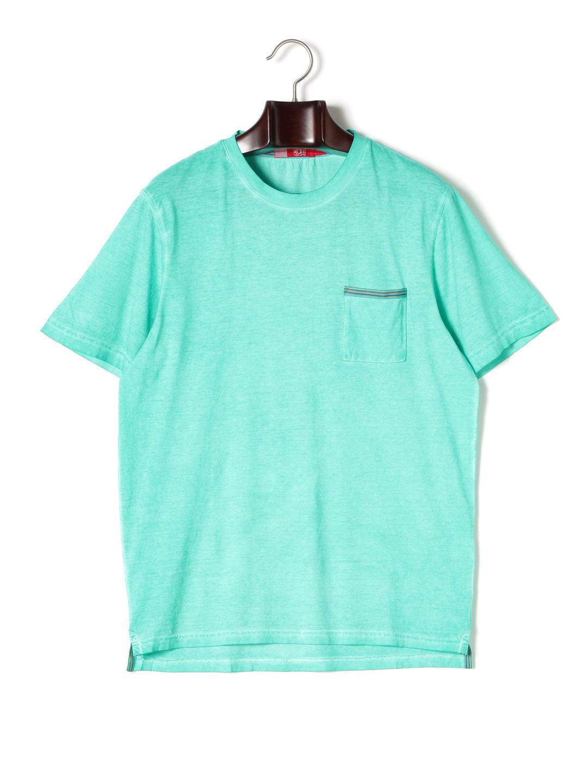 【80%OFF】ワンポケット クルーネック 半袖Tシャツ シーフォーム l ファッション > メンズウエア~~その他トップス