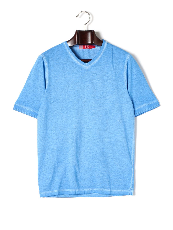 【80%OFF】Vネック 半袖Tシャツ カリビアン l ファッション > メンズウエア~~その他トップス