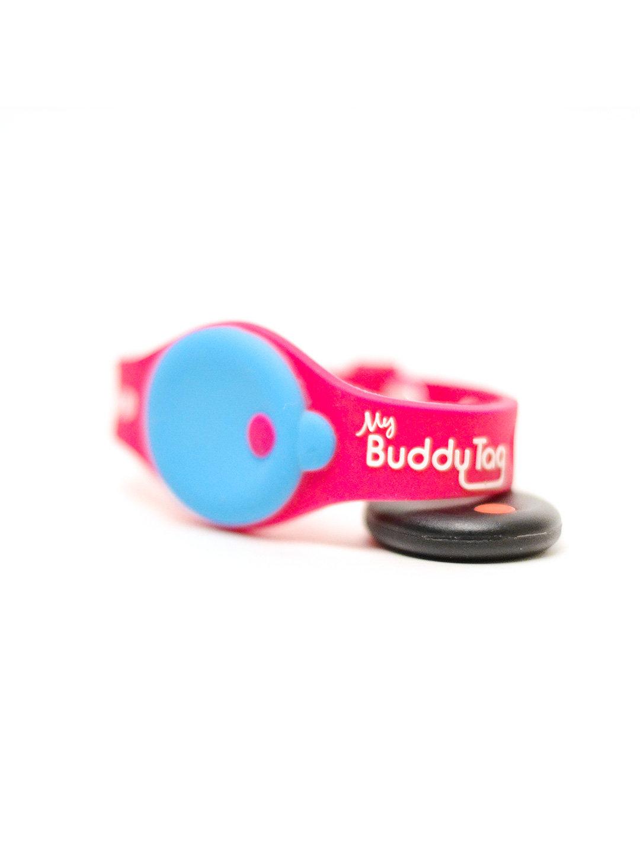 【19%OFF】バディータッグ 迷子予防リストバンド ピンク ベビー用品 > おでかけ~~おでかけグッズ