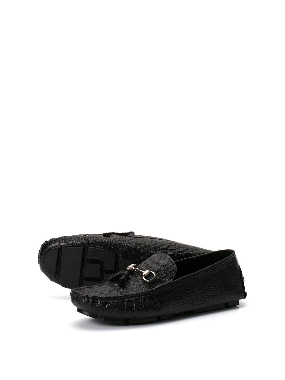 【49%OFF】タッセル ドライビングシューズ ブラック 44 ファッション > 靴~~メンズシューズ