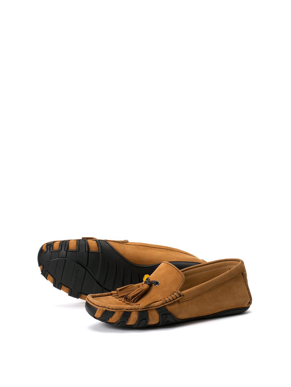 【78%OFF】ヌバック タッセル ドライビングシューズ ポンペイ 40.5 ファッション > 靴~~メンズシューズ