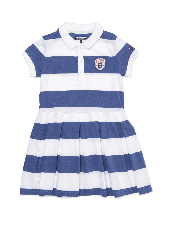 【50%OFF】BLOSSOM ボーダー 半袖 ポロドレス ダークブルー 5 ベビー用品 > 衣服~~ベビー服