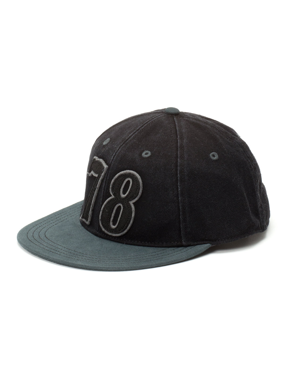 【65%OFF】ナンバリングワッペン 配色 キャップ ブラック 02 ファッション > 帽子~~メンズ 帽子