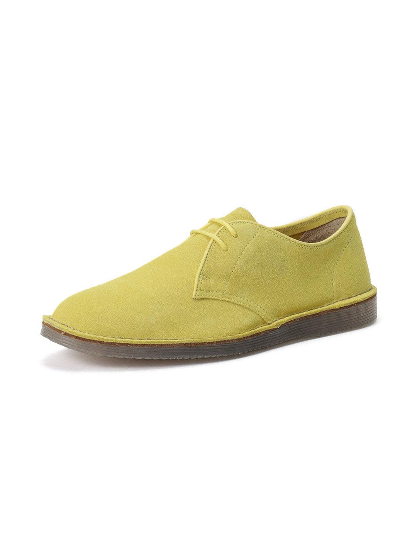 【57%OFF】Darning Walk スエード レースアップシューズ ライム 95 ファッション > 靴~~メンズシューズ
