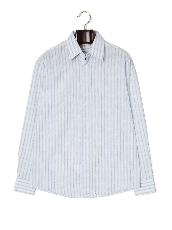 【70%OFF】ストライプ 長袖シャツ マルチ l ファッション > メンズウエア~~スーツ