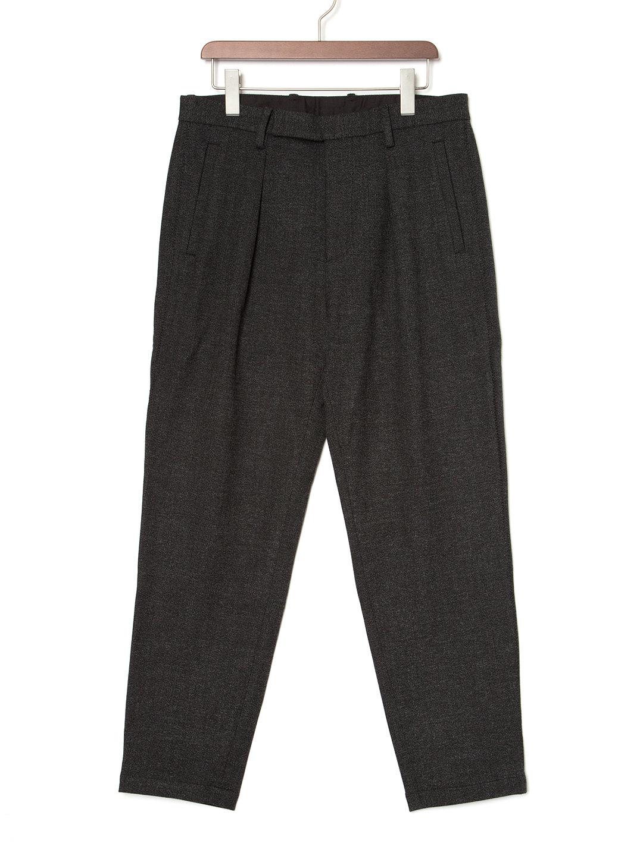 【60%OFF】テーパードパンツ チャコールグレー s ファッション > メンズウエア~~パンツ
