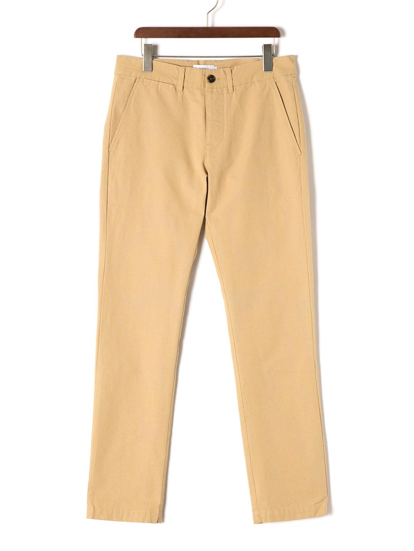 【70%OFF】JOHN テーパード カラーパンツ ベージュ 36 ファッション > メンズウエア~~パンツ