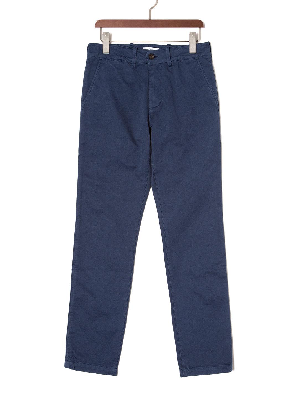【70%OFF】JOHN カラーパンツ ブルー 28 ファッション > メンズウエア~~パンツ
