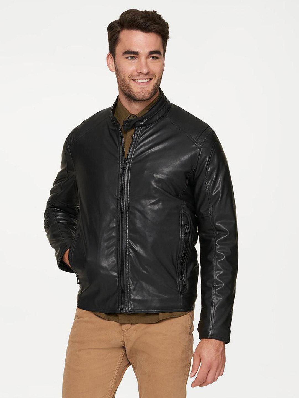 【70%OFF】KINGSBURY 中わた入り ライダー風スジャケット ブラック m ファッション > メンズウエア~~ジャケット