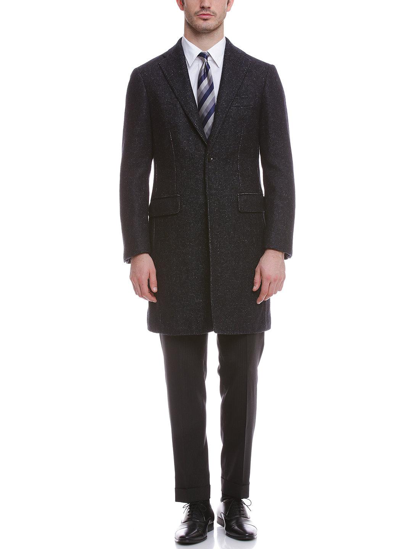 【63%OFF】アルパカ混 チェスターフィールドコート ネイビー 50 ファッション > メンズウエア~~ジャケット