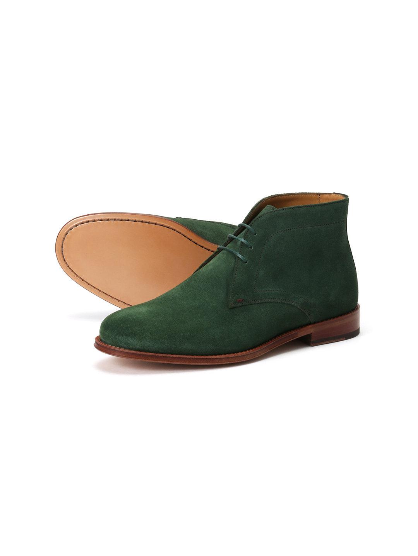【60%OFF】Paul Smith MORGAN スエード チャッカブーツ グリーン 60 ファッション > 靴~~メンズシューズ
