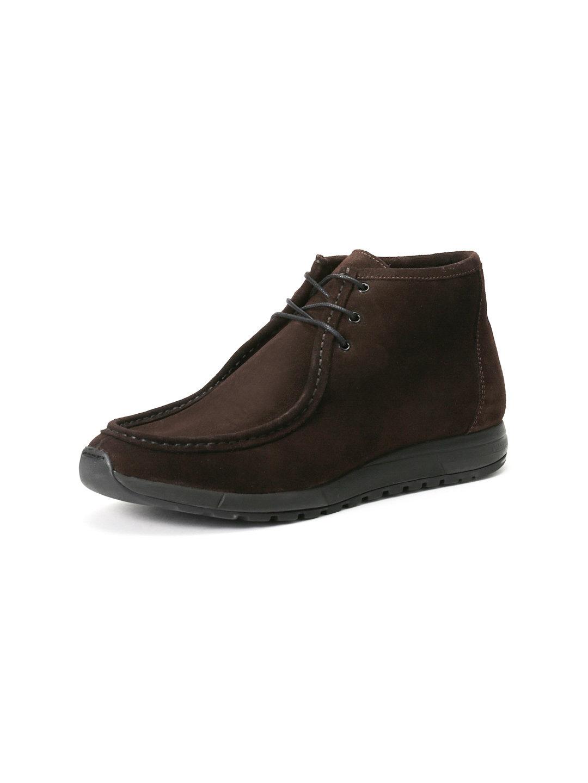 【70%OFF】Quebec スエード モカチャッカブーツ スエードブラウン 42 ファッション > 靴~~メンズシューズ
