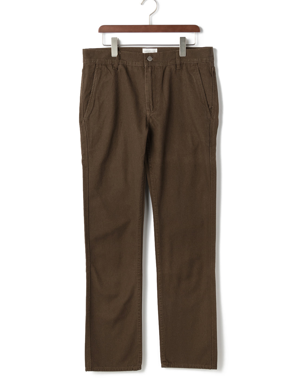 【70%OFF】JONAS カラーパンツ ブラウン 34 ファッション > メンズウエア~~パンツ