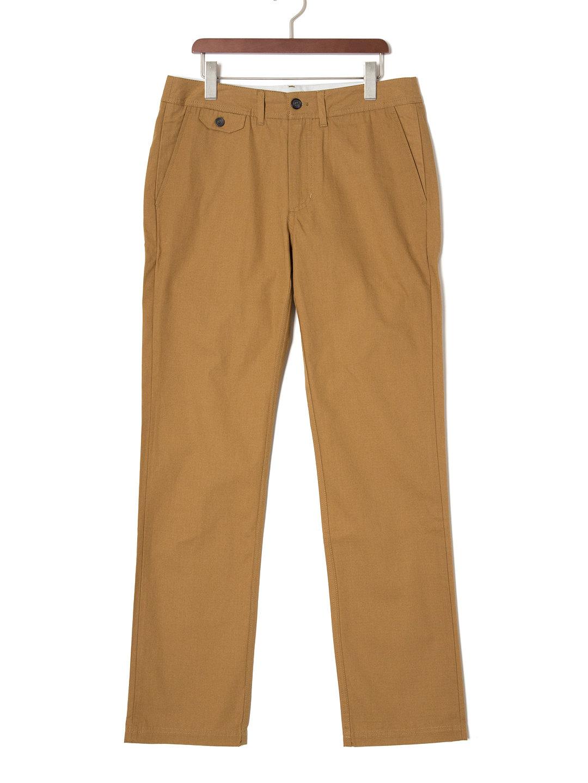 【70%OFF】BELLOWS リップストップ パンツ キャメル 34 ファッション > メンズウエア~~パンツ