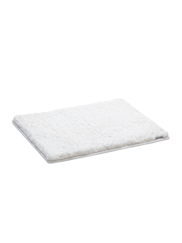 【53%OFF】低反発 ロングシャグ バスマット ホワイト キッチン・生活雑貨・日用品 > 暮らし~~お風呂用品~~バスマット