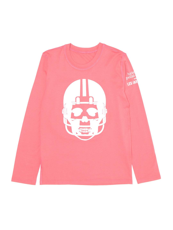 【50%OFF】PLFT スカルモチーフ クルーネック 長袖トップ ピンク s ファッション > レディースウエア~~その他トップス