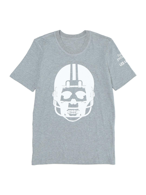 【50%OFF】PLFT スカルモチーフ クルーネック Tシャツ グレー xs ファッション > レディースウエア~~その他トップス