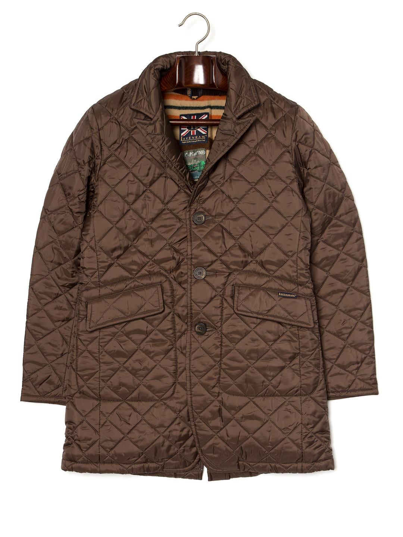 【50%OFF】CROXTON ライナー付 キルティングジャケット チョコレート 38 ファッション > メンズウエア~~ジャケット