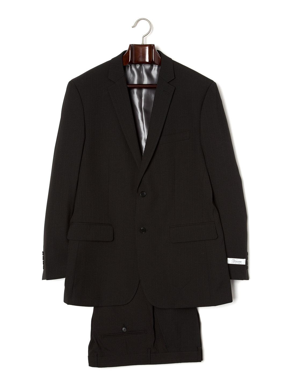 【80%OFF】ノッチドラペル スーツ プレーンブラック 38 ファッション > メンズウエア~~スーツ