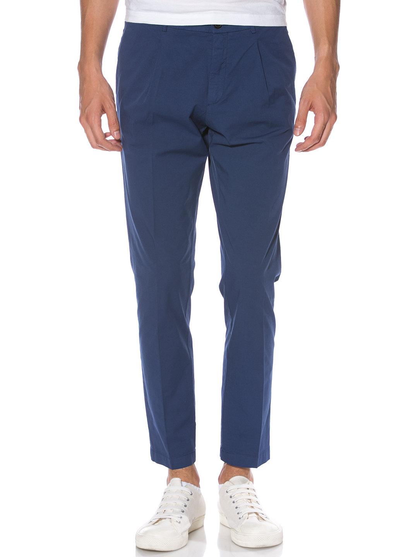 【70%OFF】タック クロップド カラーパンツ オーバジーンネイビー 28 ファッション > メンズウエア~~パンツ