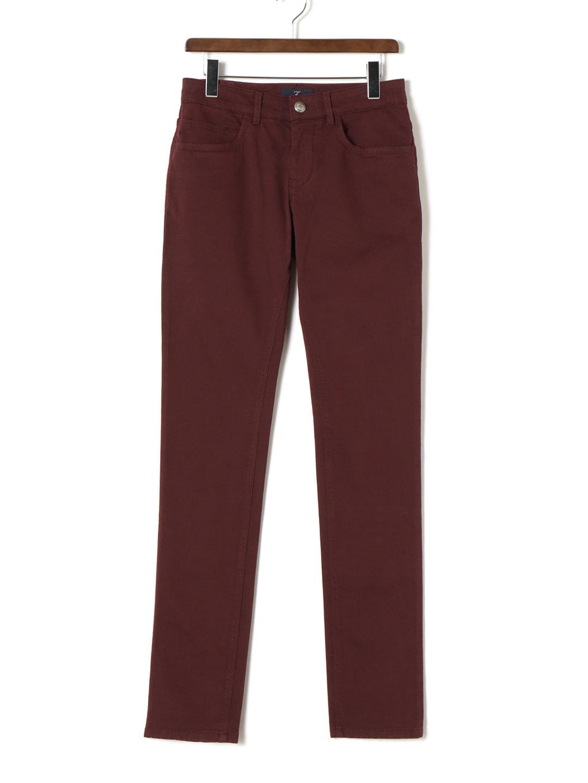 【70%OFF】ストレッチ 5ポケット パンツ ボルドー 30 ファッション > メンズウエア~~パンツ