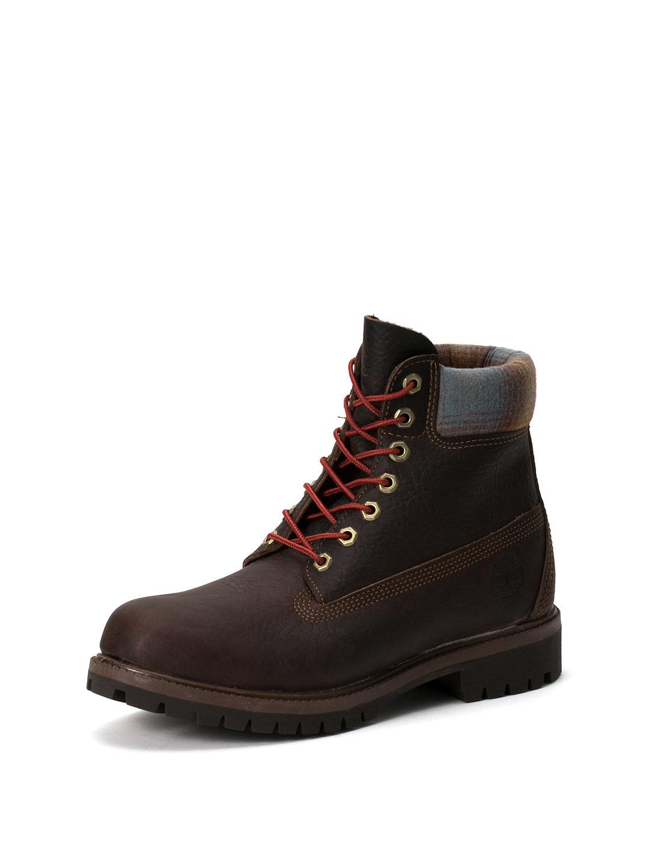 【50%OFF】6IN PREMIUM レザー レースアップ ブーツ ブラウン 7 ファッション > 靴~~メンズシューズ