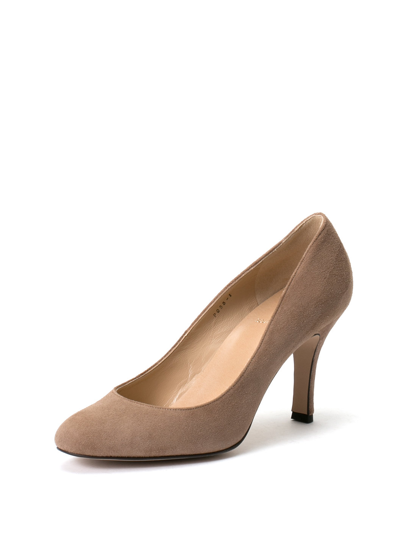 【39%OFF】プレーンラウンドトゥ パンプス ベージュペコラシルキー 22.5 ファッション > 靴~~レディースシューズ